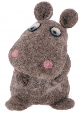 Felt egg warmer - Hippo