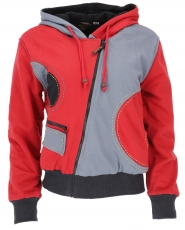 Goa jacket hippie - red