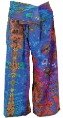 Thai fisherman pants made of cotton, wrap pants, yoga pants, bati..