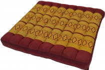 Seat cushion, floor cushion, floor matThai, kapok, 50*50 cm - win..