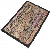 Oriental table runner, wall hanging, single piece 95*65 cm - moti..