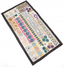 Oriental table runner, wall hanging, single piece 85*45 cm - moti..