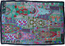 Indian tapestry patchwork wall hanging, single piece 150*100 cm -..