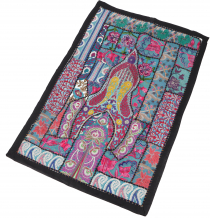 Indian tapestry patchwork wall hanging/table runner single piece ..