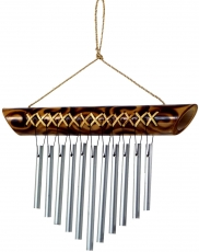 Aluminium chime, exotic bamboo wind chime - Variation 11