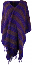 Soft Goa scarf, large shawl, Indian scarf/stole - violet