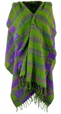 Soft Goa scarf, large shawl, Indian scarf/stole - grass green
