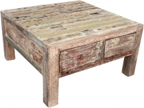 Coffee table, coffee table, side table with drawer - model 9
