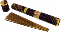 Balinese incense sticks in noble batik cloth packaging - Lemon