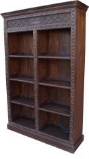 Lavishly decorated bookshelf in vintage look - Model 6