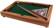 Board game, parlour game made of wood - Billiard