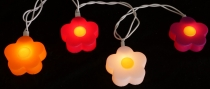 Blumen LED Lichterkette - lucky flower