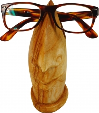 wooden spectacle stand - light brown