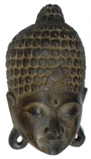 Buddha mask, wall decoration, Ethno wall decoration from balsa wo..