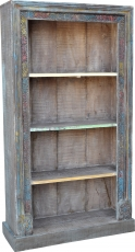 Lavishly decorated bookshelf in vintage look - Model 30