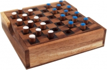 Board game, board game made of wood - Checkers