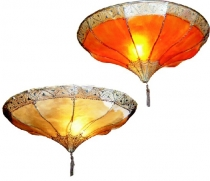 Henna - Leather Ceiling Lamp/Ceiling Lamp Salem
