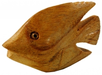 Decoration wood fish, carved