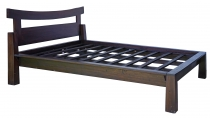 Double bed made of solid wood in Asia colonial style 160 cm - mod..