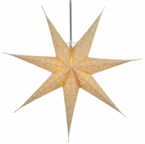 Foldable Advent light paper star, Christmas star 60 cm - Attila 7