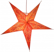 Foldable Advent light paper star, Christmas star 60 cm - Cassiope..