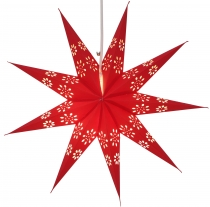 Foldable Advent light paper star, Christmas star 40 cm - Phoenix ..