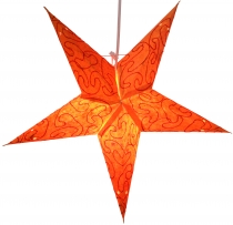 Foldable Advent Light Paper Star, Christmas Star 40 cm - Mercury ..