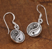Silver Earrings Bollywood 2 Moonstone