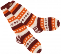 Handknitted Sheepwool Socks, Nepal Socks