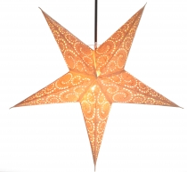 Foldable Advent light paper star, Christmas star 60 cm - Attila