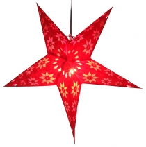 Foldable Advent light paper star, Christmas star 60 cm - Adonis r..