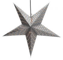 Foldable Advent light paper star, Christmas star 60 cm - Cesara