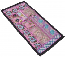 Oriental table runner, wall hanging, single piece 83*45 cm - moti..