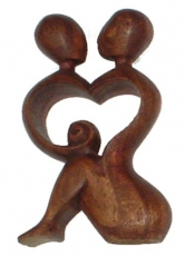 wooden figure, statue, decoration object Feng Shui - `love