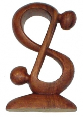wooden figure, statue, decoration object Feng Shui - `Acrobat
