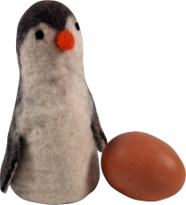 Felt egg warmer - Penguin