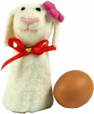 Felt egg warmer - sheep Emma