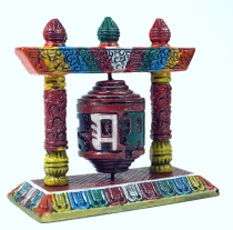 Prayer wheel - colourful