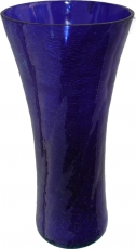 Glass vase `broken glass` in 5 colours - Nr.2