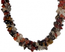 Semi-precious necklace multi 2