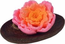 Handgeformte `Fruit & Flower` Seife - Rose