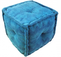 Kelim seatpouf, stool, cube - model 2