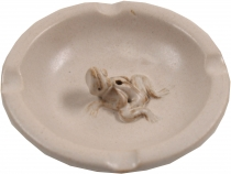 Ceramic Smoking Plate Ashtray - Model 20