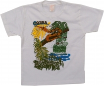 Kids T-Shirt Hippie Goa with `snakesnake`