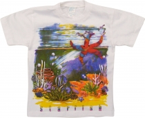 Kids T-Shirt Hippie Goa with `Seestern`