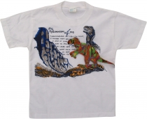 Children`s T-Shirt Hippie Goa `Tyrannus Saurus`