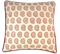 Cushion cover block print, cushion cover ethno, decorative cushio..