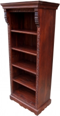 Lavishly decorated bookshelf in vintage look - Model 5
