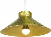 Brass ceiling lamp/ceiling light Jabalpur, handmade - Model 5