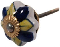 Furniture Knob Rose Ceramic - 9
